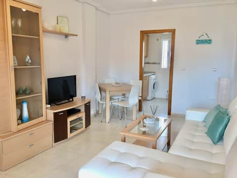 Two bedroom apartment with private roof terrace