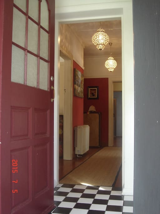 This is the main entrance into the house