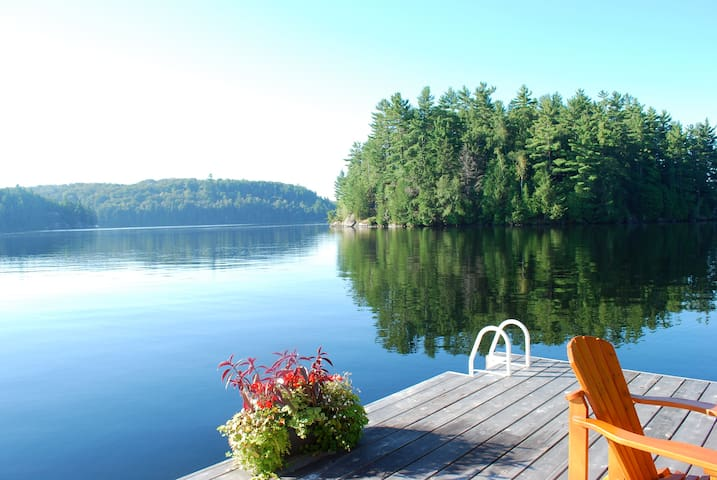 Rosseau Lake House, Timber Frame w Gorgeous Views