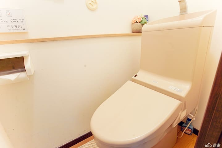 卫生间2-智能马桶 Toilet 2 - Smart Toilet