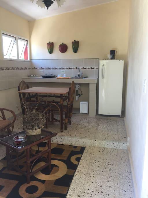 Sala cocina comedor