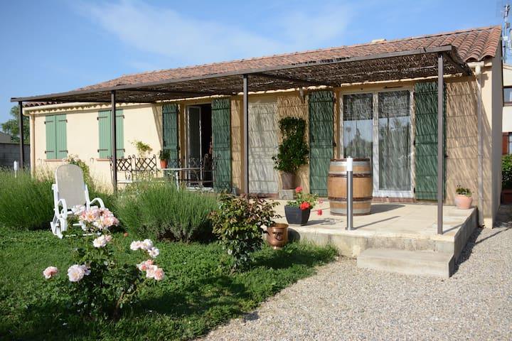 villa de plein pieds - Saint-Geniès-de-Comolas
