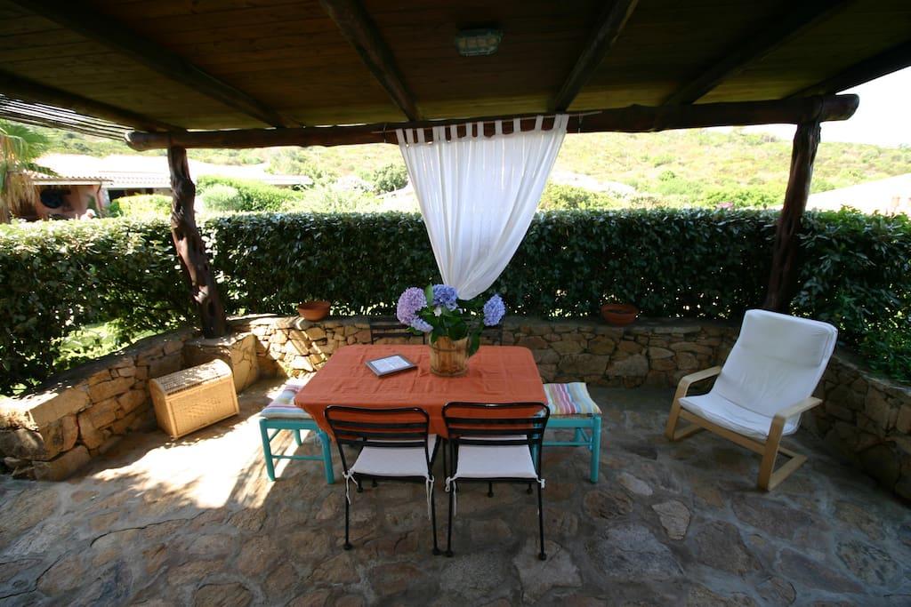 External patio - 2