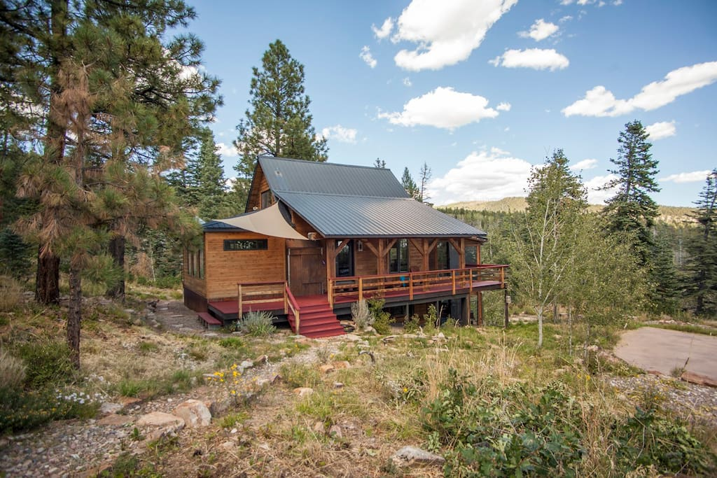 Kid friendly mountain retreat cabins for rent in durango for Cabins to stay in durango colorado