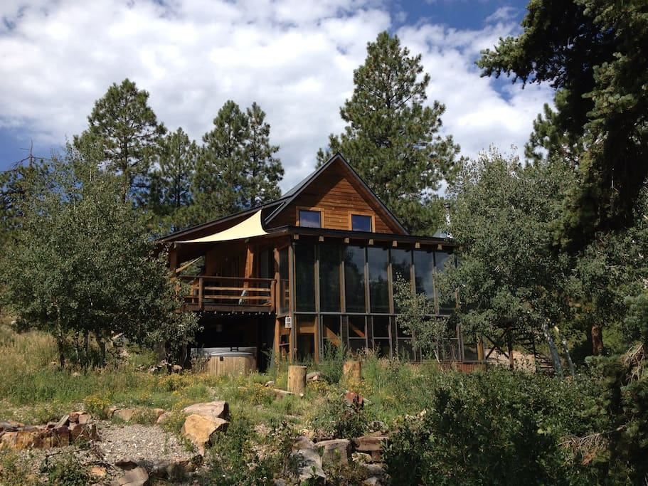 Kid friendly mountain retreat cabins for rent in durango for Colorado ski cabins for rent