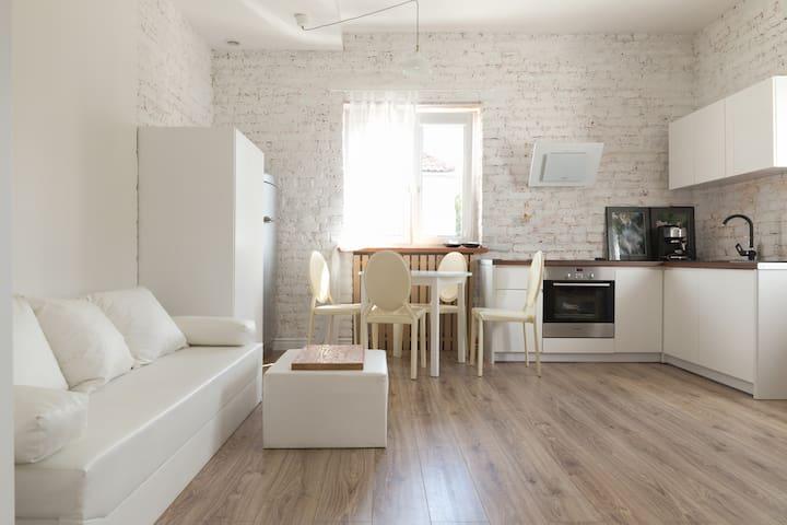 Apartament na Mariensztacie - Warsaw