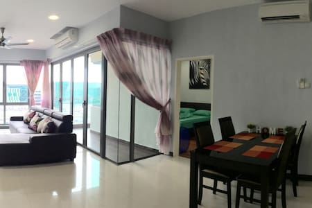 2BedRooms Condo(A)@ City Centre - Kota Kinabalu - Huoneisto