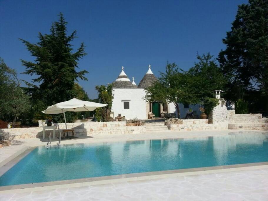 trullo cime bianche avec piscine priv e trulli italie
