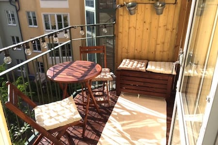 Nice apt in the city of Stockholm! - Sztokholm - Apartament