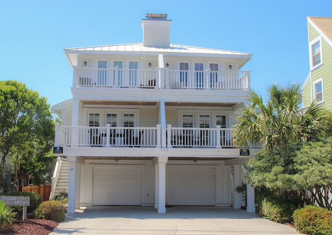 Oceanview retreat on Wrightsville Beach's south end, 1 block to the beach!!