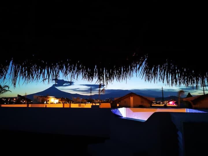 Casa nueva sin amueblar con jacuzzi en la terraza