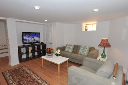 Comfy, cozy and clean w/parking- Boston/Cambridge - 萨默维尔 - 公寓