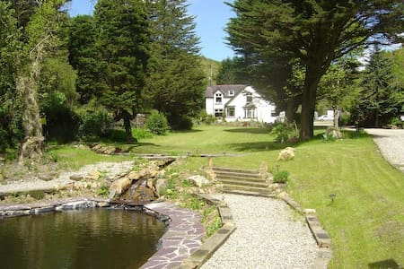 Beautiful Secluded Home with Extensive Grounds - Llanbedrog