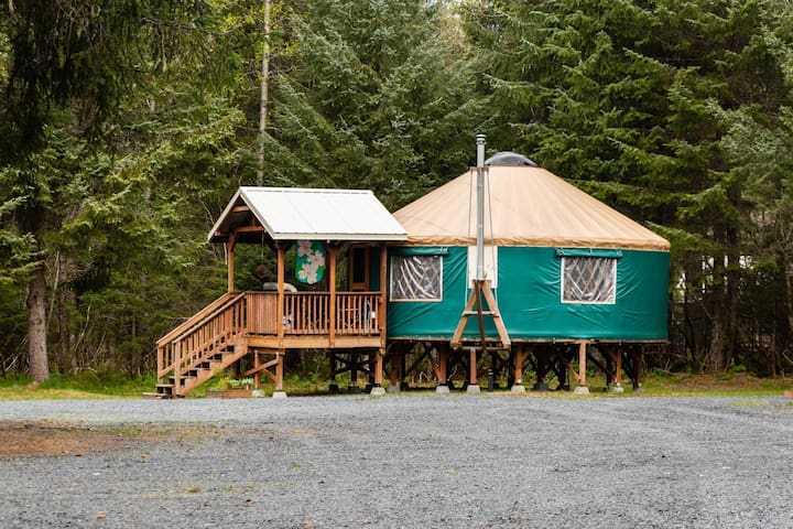 24 Ft. Modern Yurt #1