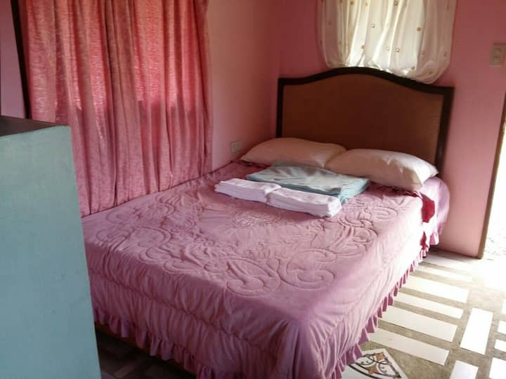 Sunny Shores Pink Room