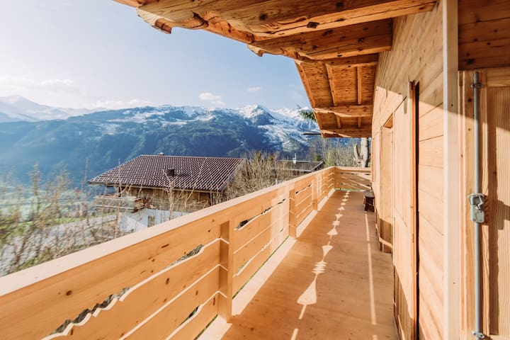 Modern authentic Alpine Chalet with scenic views