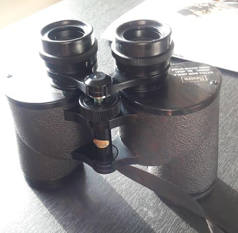 Binoculars..of course!