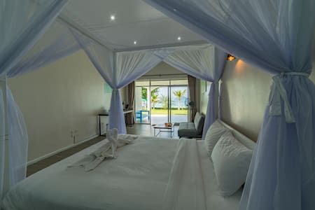 Every room on property offers beautiful views and direct access to our private beach.