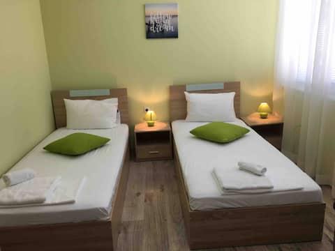 Double rooms in the heart of Balchik