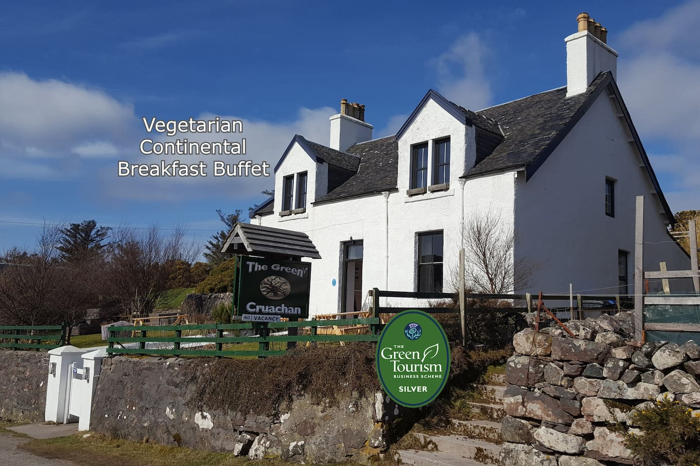 Bed & Breakfast directly located on the North Coast 500 (NC500).