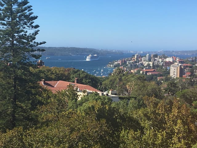 Harbour and city views 2B - Woollahra - Byt