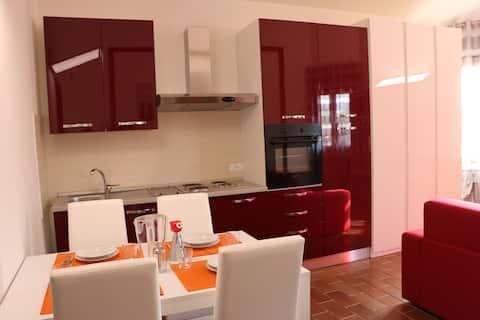Modern appartement in Villa