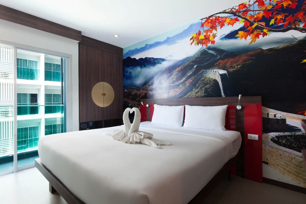Chinese Theme - Double Bed