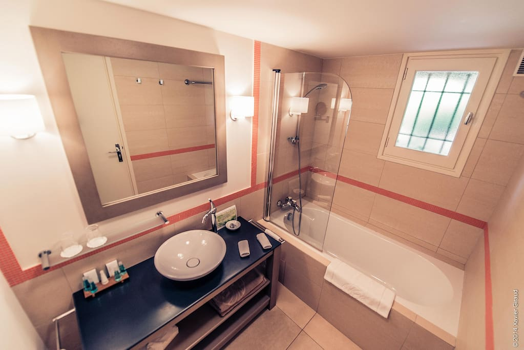 Salle de bain duplex