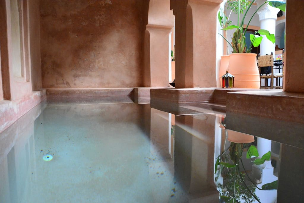 The oriental bath to refresh you! The main step of you day!