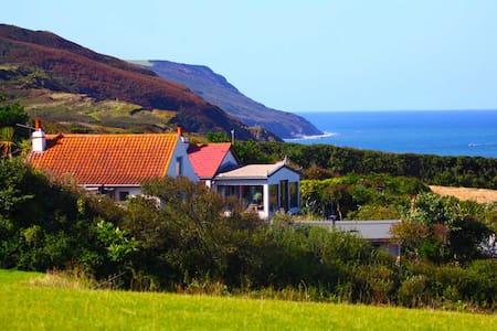 Outstnding views, beach, sea,fields - Widemouth Bay - Bungalou