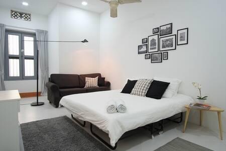 Stylish Alabaster Room near Sentosa 8 mins to MRT - Singapore - Talo
