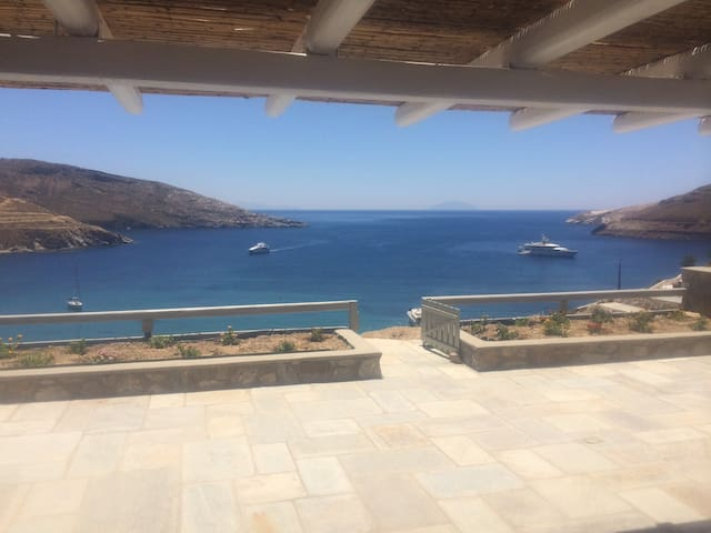 Serifos beachouse breathtaking view - Serifos - Huis
