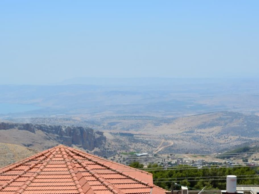 View of the Kinneret
