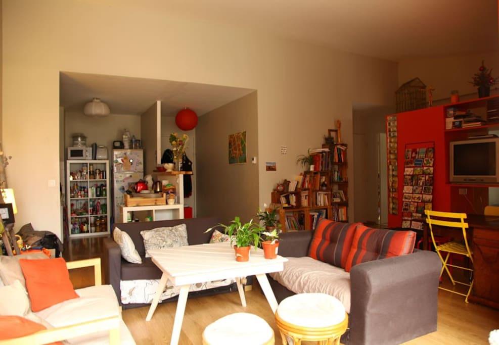 Chambre chez l 39 habitant bordeaux appartements louer for Maison appartement bordeaux