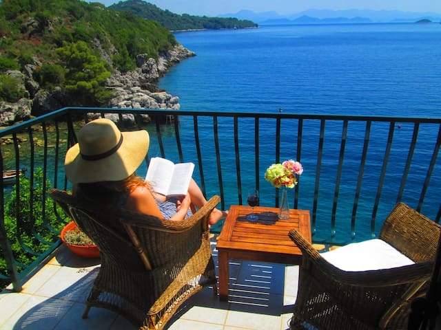 Amazing view apartment Mljet island - Sobra