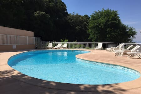 Charming apartment WIFI and pool near St Tropez
