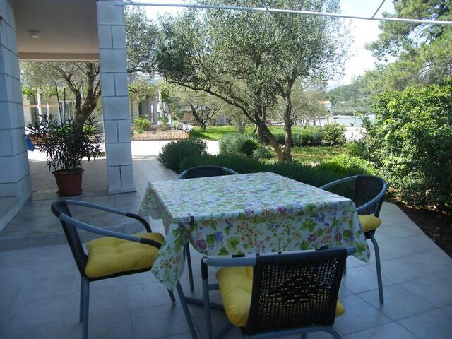 Maslina Apartment 2+2 - Lumbarda - Apartment