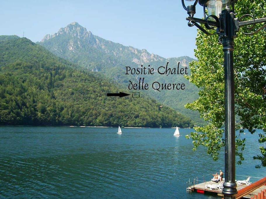 Trentino baita lago ledro garda appartamenti in affitto for Case affitto lago di garda capodanno