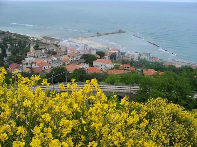 Confortevole appartamento sul mare - Marina di San Vito - Byt