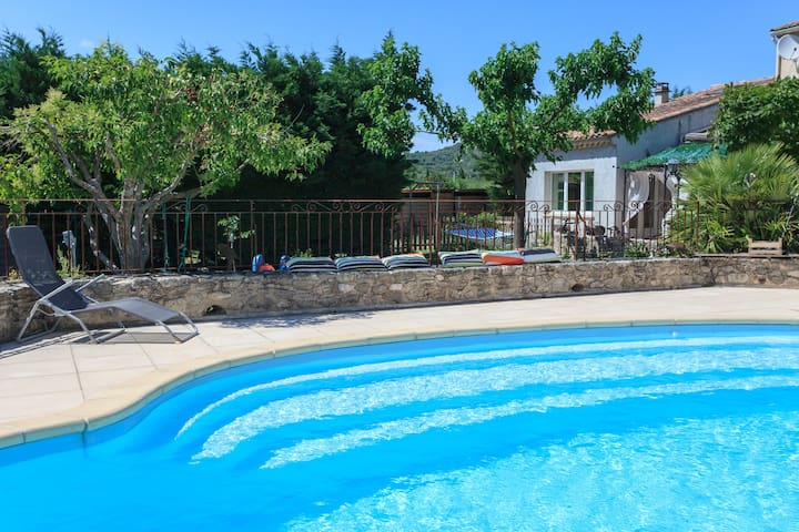 60m2 flat + pool - Enjoy ! - Clansayes - House