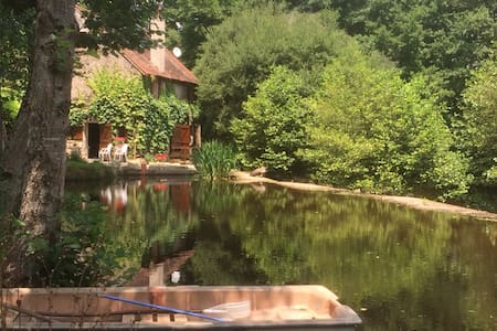 Fairytale stone mill cottage - Brigueil Le Chantre - Haus