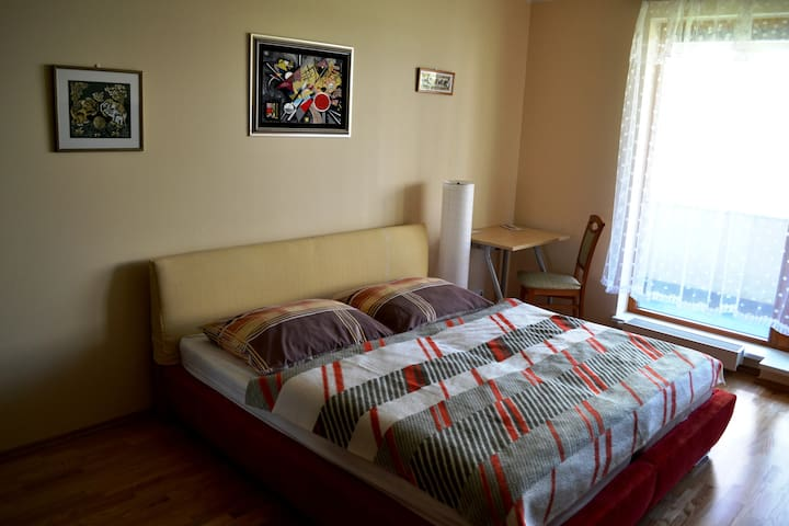 Comfy room a short ride from centre - Praga - Apartamento