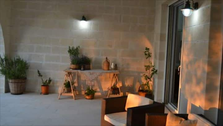 Villa in pietra Leccese a Otranto