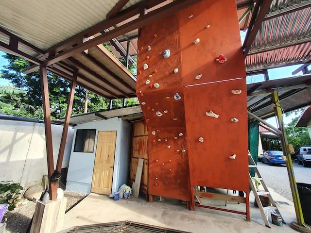 Climbing Wall Room