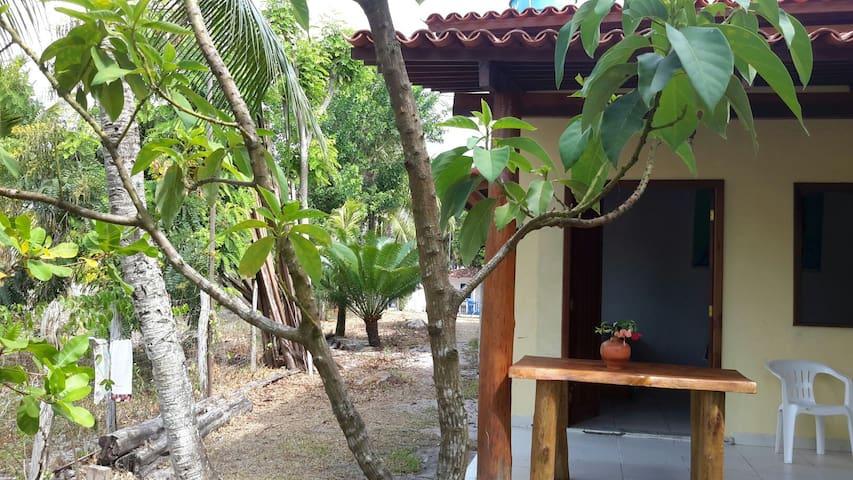 Casa em Garapuá - Ilha de Tinharé - Bahia - Morro de São Paulo