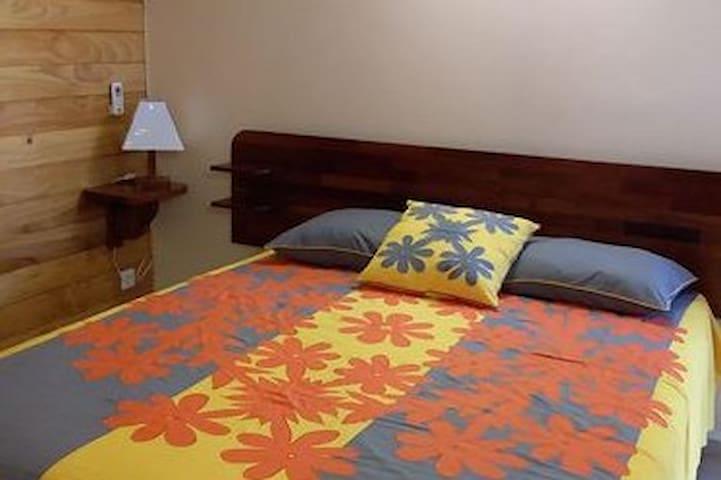 Bora Bora Holiday's Lodge - Chambre double sup