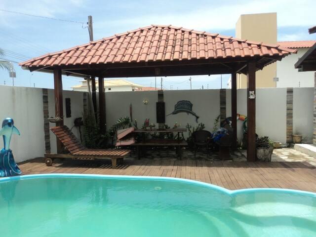 Excelente Casa na Belíssima Praia Ponta de Campina - Cabedelo - Huis
