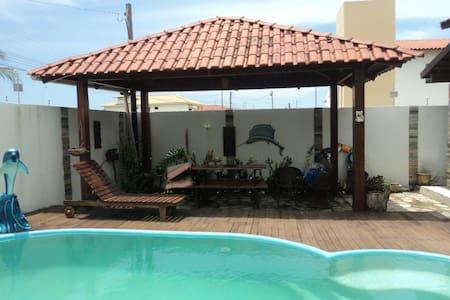 Excelente Casa na Belíssima Praia Ponta de Campina - Cabedelo
