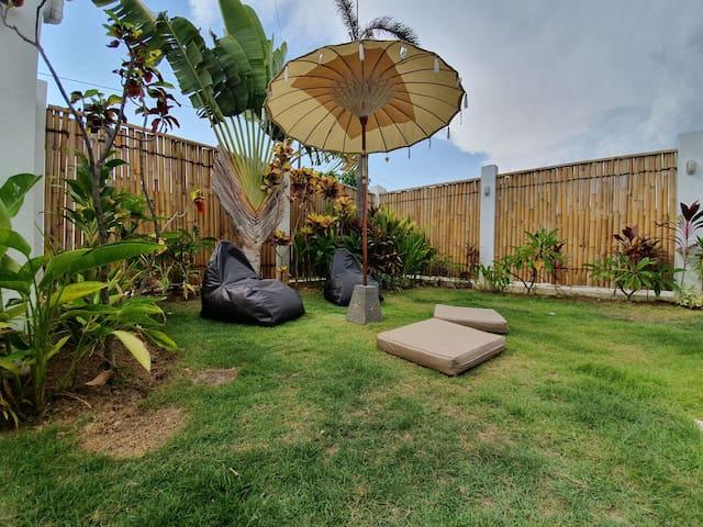 2BR Modern Eco Villa Batu Belig Seminyak Canggu