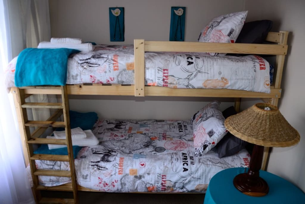4th bedroom with bunk beds